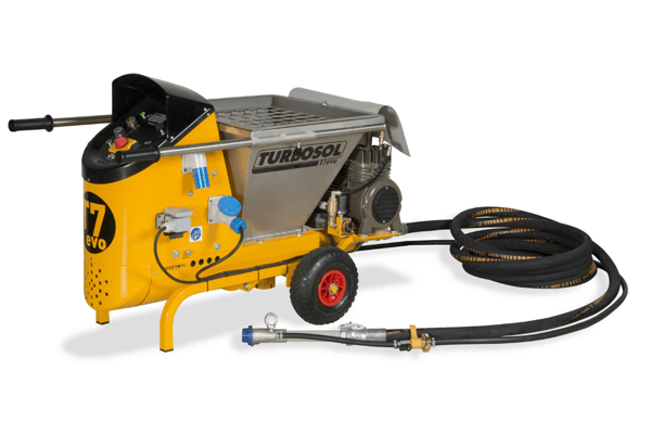 Concrete spraying pump (Shotcrete Pumps)