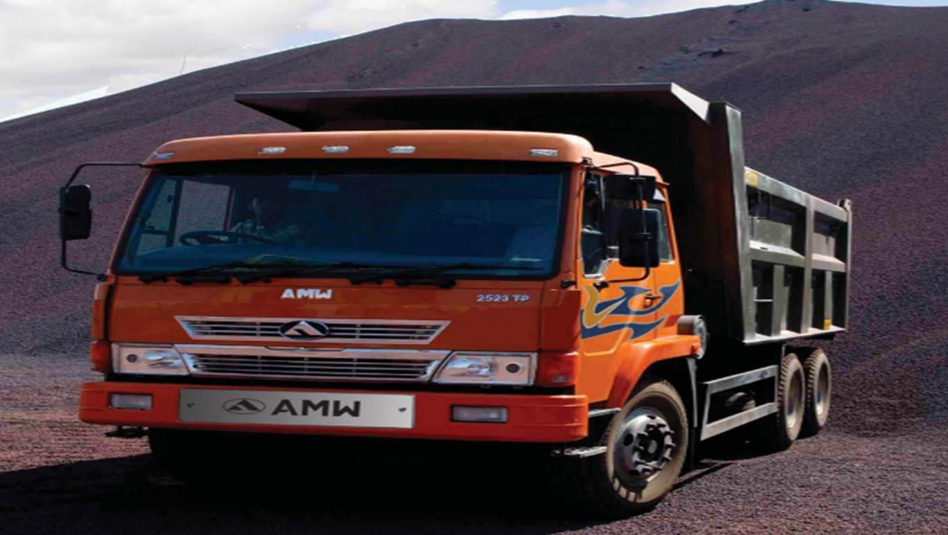 AMW MOTORS 2523 TP box body