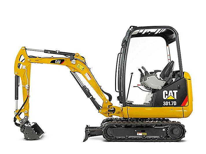 CAT 301.7D