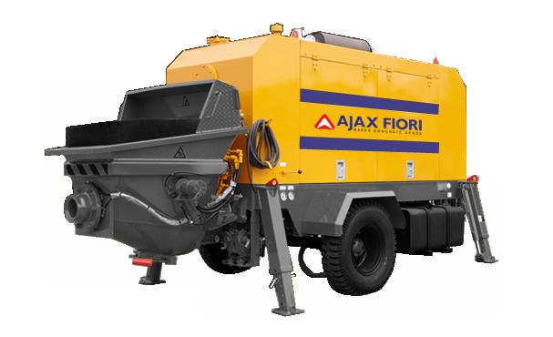 AJAX FIORI Trailer Mounted Concrete Pump Serice JSP 40/70HPD