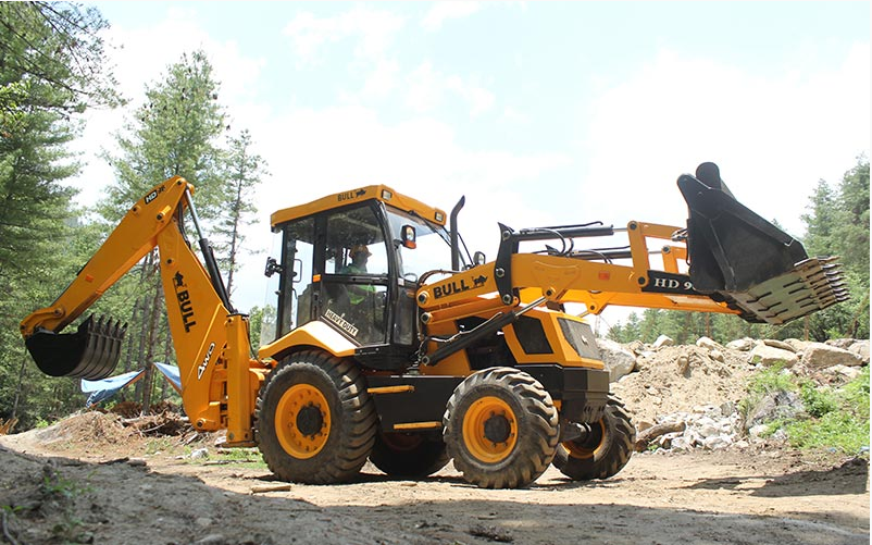 Backhoe Loader  BULL HD 96